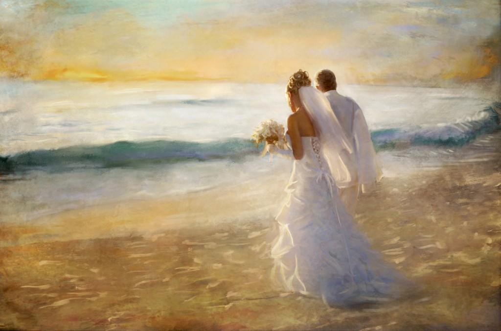 Mariage mer plage