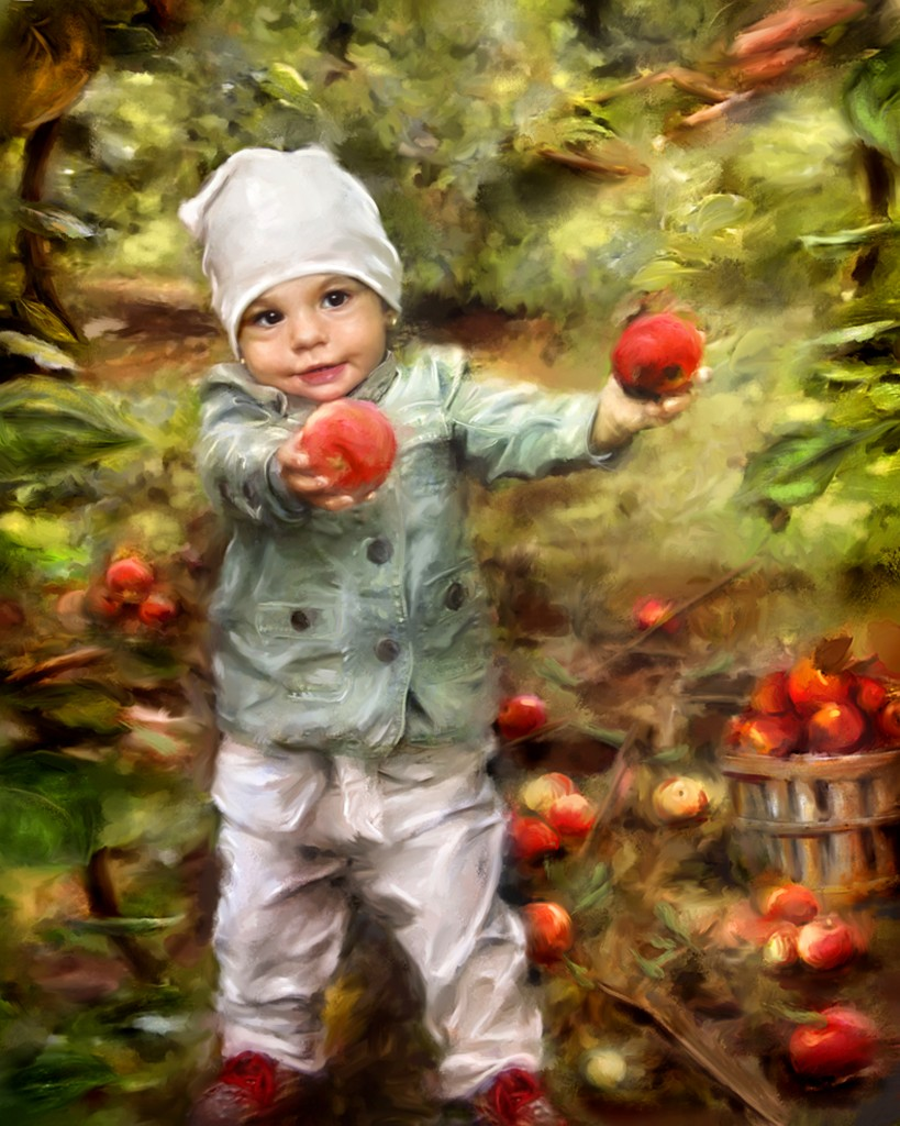 peinture_Marc_bailey_pommes